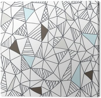 Obraz na Plátně Abstraktní bezešvé doodle vzor