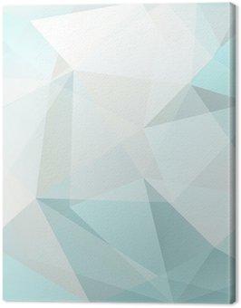Obraz na Plátně Abstraktní trojúhelník, pozadí, vektor