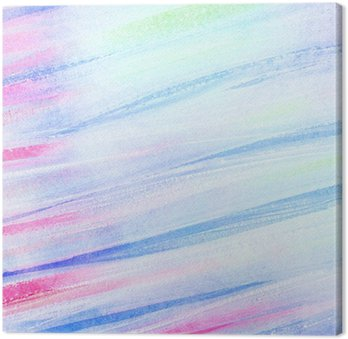 Obraz na Plátně Abstraktní umělecké akvarel tahy štětcem