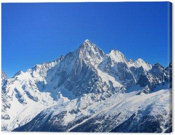 Obraz na Plátně Aiguille Verte - Mont Blanc (Haute-Savoie)