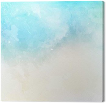 Obraz na Plátně Akvarel textury na pozadí