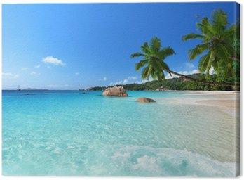 Obraz na Plátně Anse Lazio Beach na ostrově Praslin, Seychely