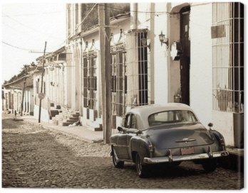 Obraz na Plátně Antique auto, Trinidad