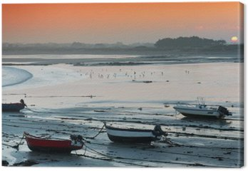Obraz na Plátně Aurore sur la baie d'Audierne