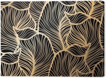 Obraz na Plátně Bezešvé květinovým vzorem. Royal tapeta