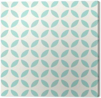Obraz na Plátně Bezešvé vzor. Ručně tažené. Květ. design pozadí