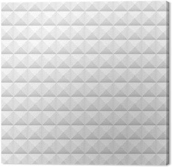Obraz na Plátně Bílé dlaždice, náměstí, vektorové ilustrace, bezešvé vzor