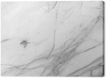 Obraz na Plátně Bílém pozadí mramorové zdi textury