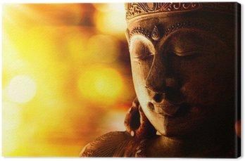 Obraz na Plátně Bronzová socha Buddhy