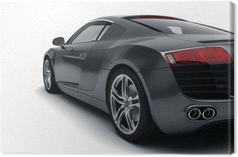 Obraz na Plátně Černé sportovní auto