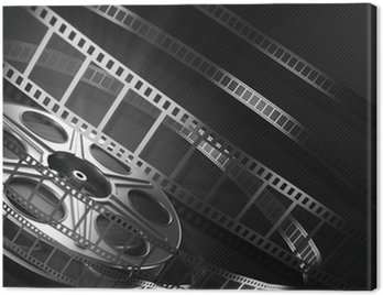 Obraz na Plátně Cinema film reel