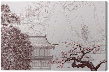 Obraz na Plátně Čínské krajiny