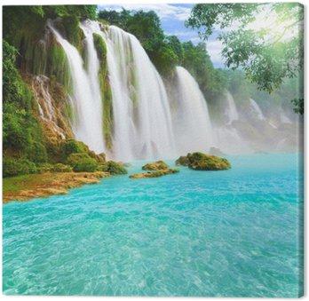 Obraz na Plátně Detian vodopád