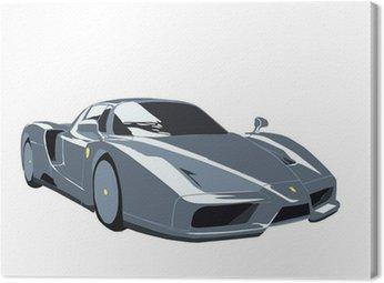 Obraz na Plátně FERRARI ENZO Sportscar