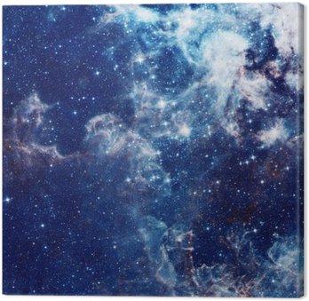Obraz na Plátně Galaxy ilustrační, vesmírných pozadí s hvězdami, mlhoviny, kosmos mraky