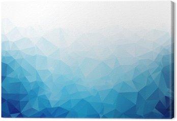 Obraz na Plátně Geometrické modré led textury na pozadí