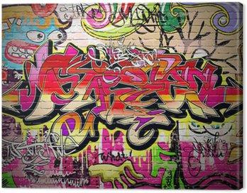 Obraz na Plátně Graffiti Art Vector pozadí