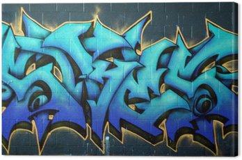 Obraz na Plátně Graffiti Street Spraypaint