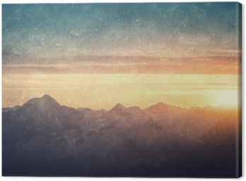 Obraz na Plátně Grunge stylu lanscape