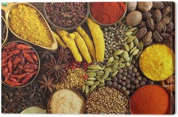 Obraz na Plátně Indické koření