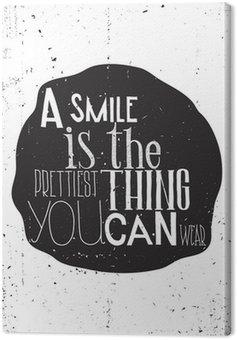 Obraz na Plátně Jednoduché Stylový motivační plakát, na každý den