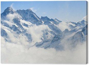 Obraz na Plátně Jungfraujoch Alpy Horská krajina