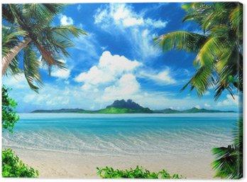 Obraz na Plátně Kouzelné pobřeží