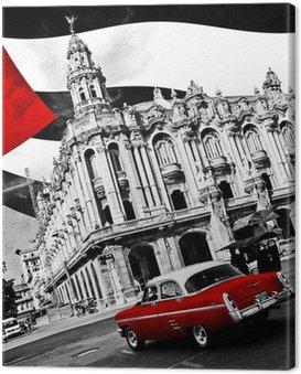 Obraz na Plátně Kuba (n & b)