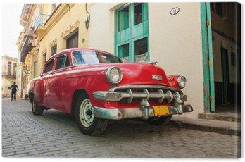 Obraz na Plátně Kubánské stará auta