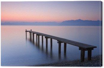 Obraz na Plátně Lac Léman Suisse