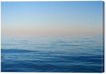 Obraz na Plátně Mořské vlny na pozadí modré oblohy