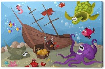 Obraz na Plátně Mořský život