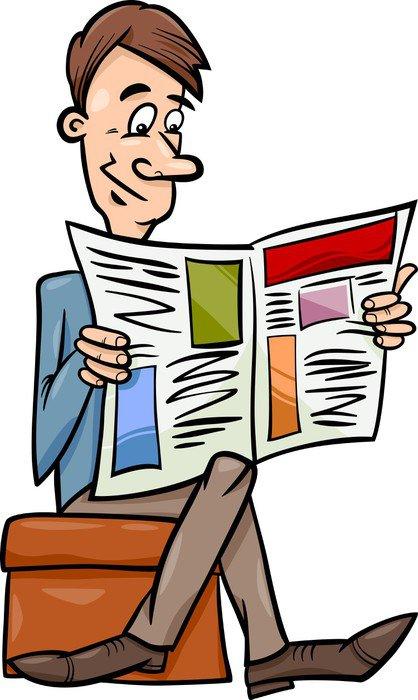 Výsledek obrázku pro noviny kreslené