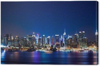 Obraz na Plátně New York Manhattan skyline