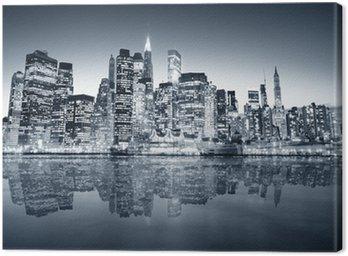 Obraz na Plátně New york manhattan