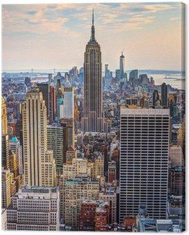 Obraz na Plátně New York za soumraku