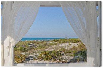 Obraz na Plátně Okno do moře