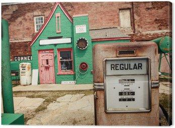 Obraz na Plátně Opuštěné benzín stanice na Route 66