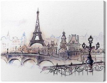 Obraz na Plátně Paris (řada C)