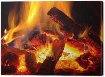 Obraz na Plátně Plamen ohně