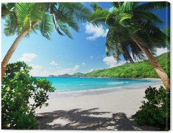 Obraz na Plátně Pláž, ostrov Mahe, Seychely