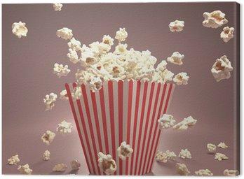 Obraz na Plátně Popcorn Létající