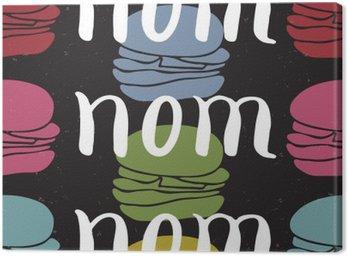 Obraz na Plátně Potraviny typografické citát karta