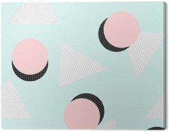 Obraz na Plátně Retro geometrický vzor
