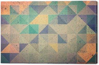 Obraz na Plátně Růžová a fialová trojúhelník abstraktní pozadí obrázku