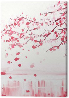 Obraz na Plátně Sakura japonský styl