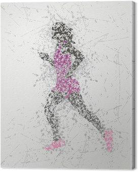 Obraz na Plátně Sportovec konstrukce