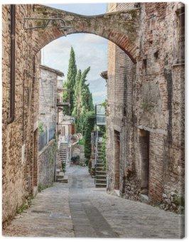 Obraz na Plátně Starožitné italština alej