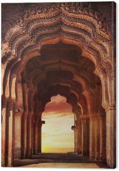 Obraz na Plátně Starý chrám v Indii