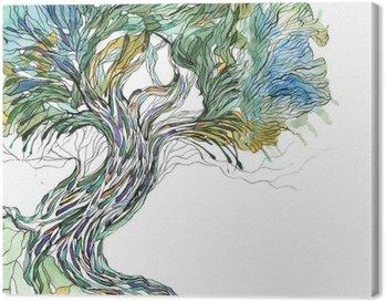 Obraz na Plátně Starý strom